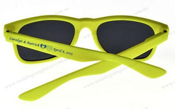 Save your date printing promotion sunglasses wholesale custom cheap promotional sunglasses 1