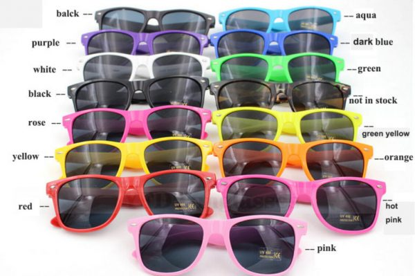 all wedding sunglasses colours Australia