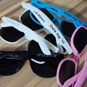 wedding personalised sunglasses wholesale printing sunglasses