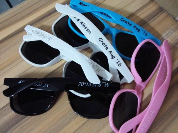 wedding personalised sunglasses wholesale printing sunglasses