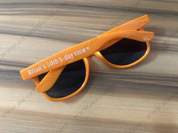 great giveaways custom printed wayfarer sunglasses personalised birthday sunglasses