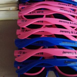 personalised sunglasses colorful fashion Products Wedding sunglasses