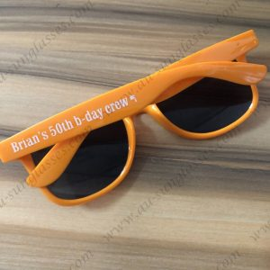 great giveaways custom printed wayfarer sunglasses personalised birthday sunglasses