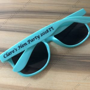 personalised hen party sunglasses great for wedding party promotional custom sunglasses
